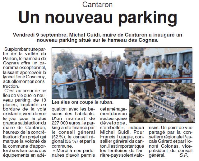 La Lettre du Paillon l n°624 l du 27 septembre au 10 octobre 2011