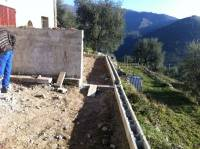 Terrasse du gîtes Les Coquelicots (Préparation)