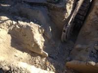 Un sous sol très rocheux