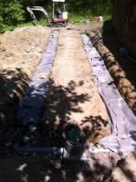 24ml de drains réalisés